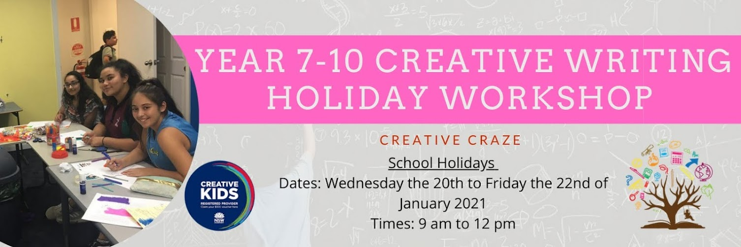 Year 7-10 English - Creative Craze