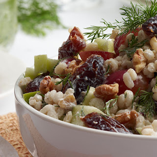 Medjool Date and Barley Waldorf Salad