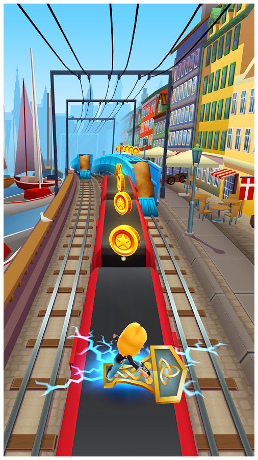 تحميل اللعبة المثيرة Subway Surfers