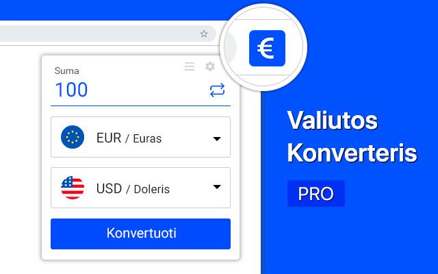 valiutos skaičiuoklė forex