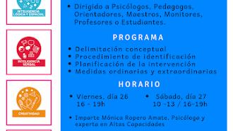 Curso Programa Despierta Almería  para la Identificación de Altas Capacidades.