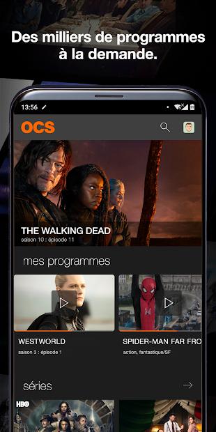 OCS Android App Screenshot