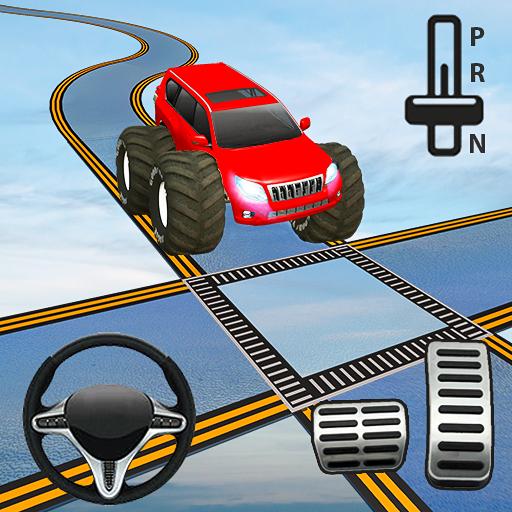 Impossible Driving Prado Stunts: Prado Games (game)