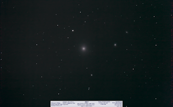 Photo: Day49's spring cleaning, which was posted 'on time' this past Sunday was actually taken during the +Virtual Star Party   While watching the replay, I realized that the live views were dim and wholly uninteresting.  I intend to up that game.   In the meantime, here's M87, brightest radio sources in the sky.  You heard that +Nicole Gugliucci ??