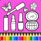 Libro de belleza para colorear icon