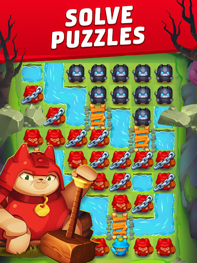 Cat Force - Free Puzzle Game apkpoly screenshots 7