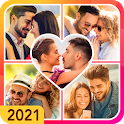 Photo Collage - Photo Editor& Beauty Selfie Camera icon