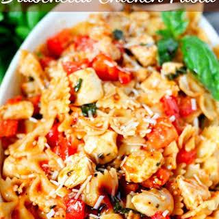 Bruschetta Chicken Pasta.
