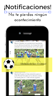 FutbolApps.net Cremas Fans Screenshot