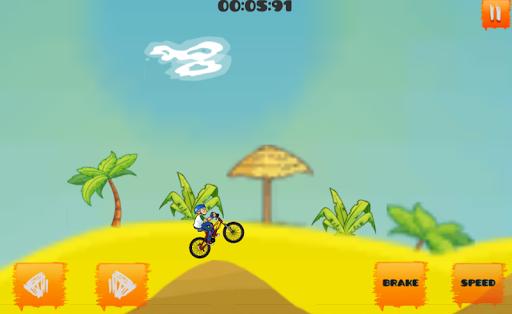Crazy Bicycle Stunts Game apkmind screenshots 4