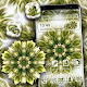 Download Abstract Green Flower Launcher Theme For PC Windows and Mac