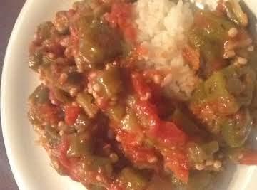 Smothered Okra & Tomatoes