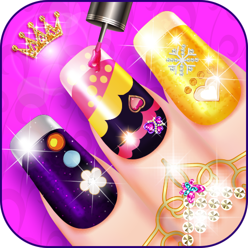 Beauty nail salon Icon