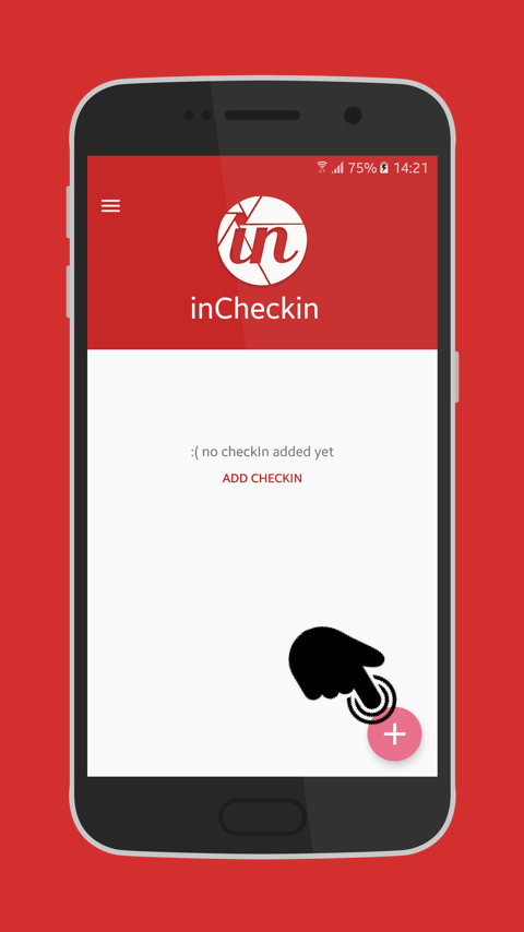 inCheckin- screenshot