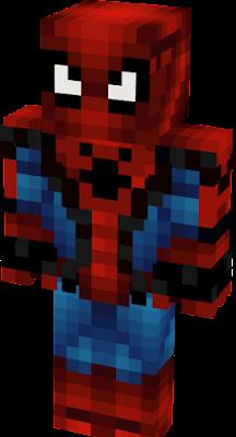 Spider Man Nova Skin - Skins para minecraft pe de spiderman