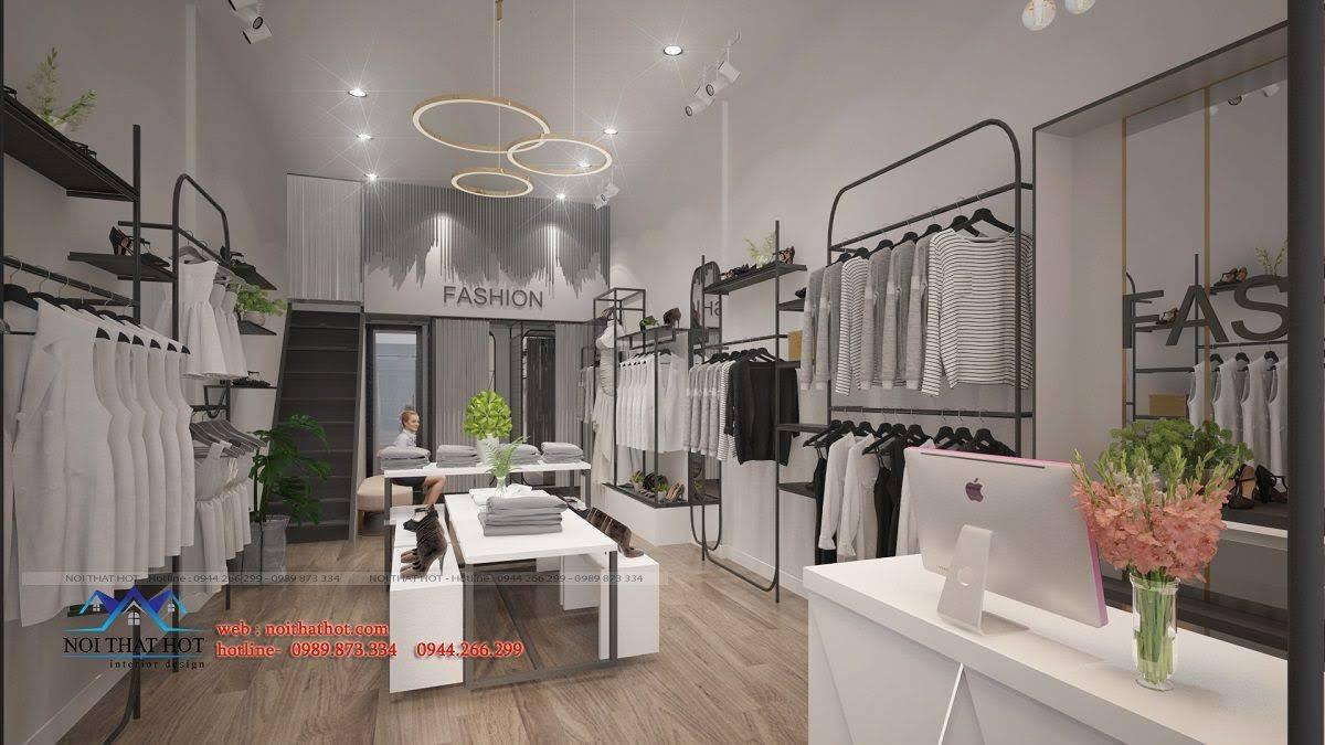 thiết kế shop thời trang hoài đức 10