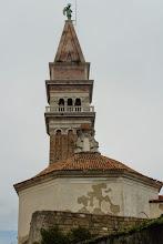 Photo: Na tę wieżę wleźliśmy, żeby podziwiać panoramę Piranu