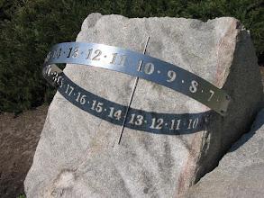 Photo: Zegar słoneczny w Ogrodzie Botanicznym w Łodzi