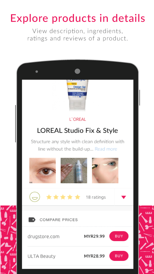 Favful: Virtual Beauty Advisor- screenshot