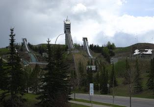 Photo: Kayakla atlama rampaları. Calgary