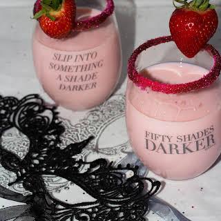 Chocolate Covered Strawberry Martini.