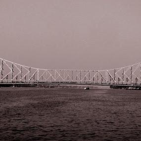 Connector........ by Dipan Chaudhuri - Buildings & Architecture Bridges & Suspended Structures