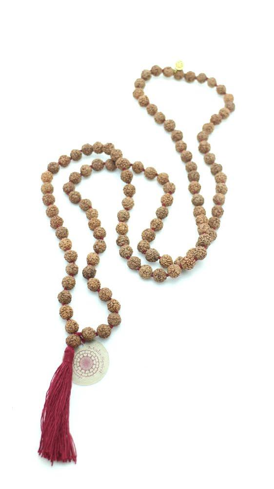 Rudraksha, meditations mala