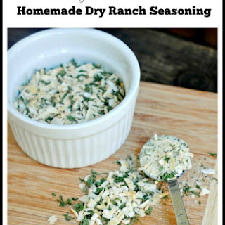 DIY Dry Ranch Seasoning.