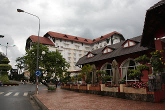 Photo: Year 2  Day 16  -  One of the Grand Hotels in Dalat