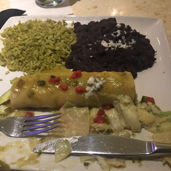 Avocado enchilada