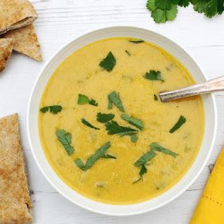 Curried Cauliflower Soup [vegan]