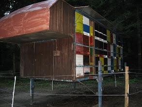 "Photo: Arnie ""trasportabili"" nel bosco (Cerkniško jezero - lago di Circonio)"