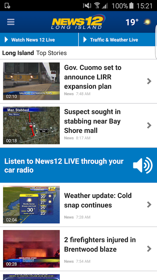 News 12- screenshot