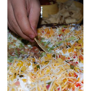 7 Layer Bean Dip