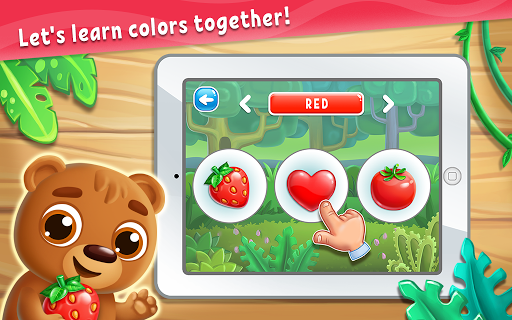 Colors for Kids, Toddlers, Babies - Learning Game apkmartins screenshots 1
