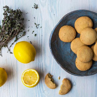Chewy Lemon and Thyme Cookies Recipe