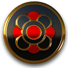 Romi HD Icon Pack Gold Red icon