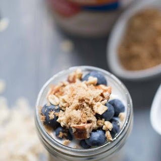 Blueberry Crisp Overnight Oats