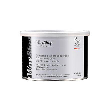 Fettlösligt ljummet vax med remsa 400 ml blanc