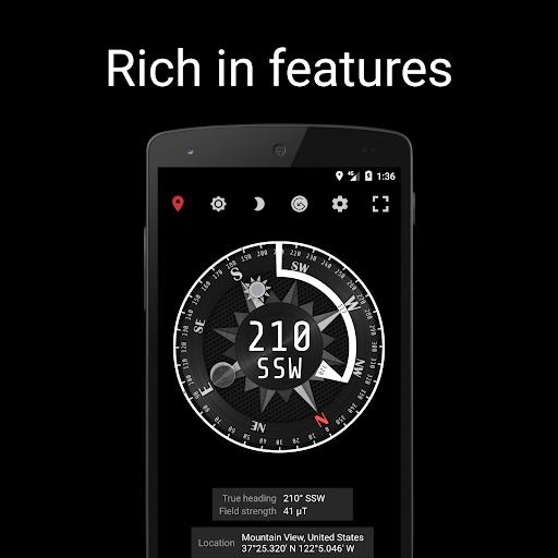 Compass Steel (No Ads) screenshot 4