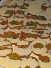 Photo: Organic Oolong tea agar (Organic High Mountain Jade Oolong.)