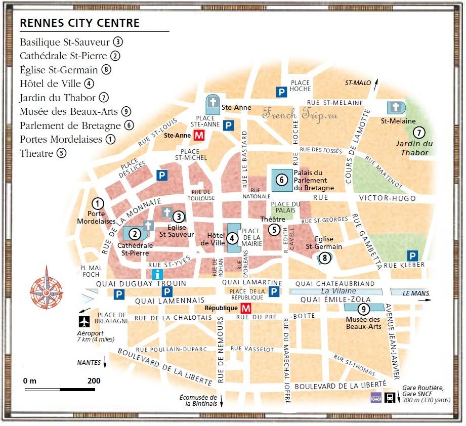 Карта Ренна (Rennes), Бретань, Франция - достопримечательности Ренна на карте города. Скачать карту Ренна бесплатно. Что посмотреть в Ренне, путеводитель Ренн, что посмотреть в Ренне, путеводитель по городу Ренн (Rennes), Бретань, Франция. Путеводитель по Франции, Ренн достопримечательности, Ренн что посмотреть, Ренн путеводитель, Ренн карта, скачать бесплатно, Ренн Франция, Ренн, Rennes, Rennes Франция, Rennes достопримечательности, Rennes туристический маршрут, Rennes туристический маршрут с картой, Rennes что посмотреть, Rennes путеводитель, города Франции