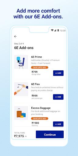 IndiGo-Flight Ticket Booking App 5.0.56 Screenshots 3