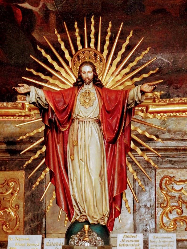 Győr - Szeplőtelen Fogantatás és Szent István király rk. templom (Kármelita templom)-templombelső