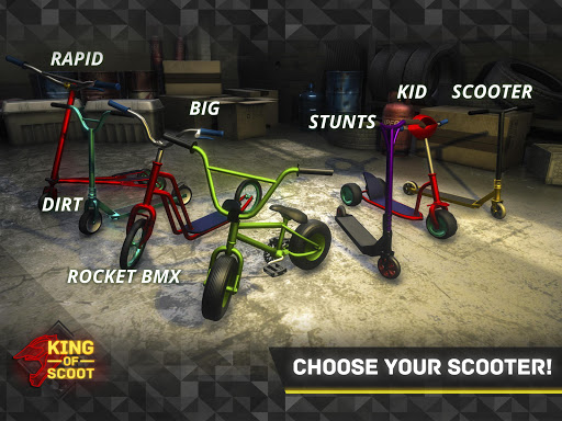 King Of Scooter Race 3.0 Mod screenshots 5