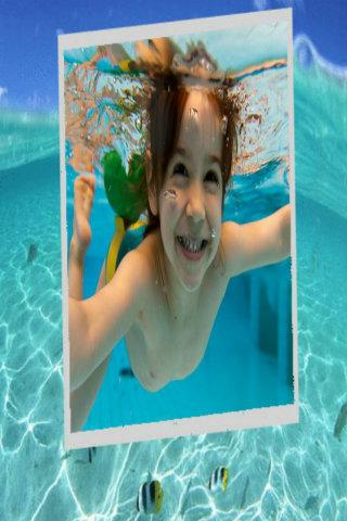 Ocean Underwater Photo Frames