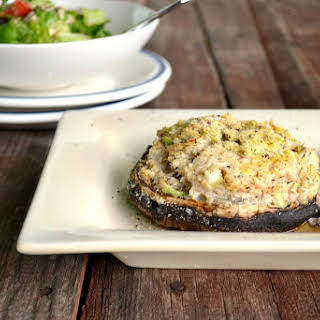 Portobello Mushrooms Stuffed Stuffing Recipes.