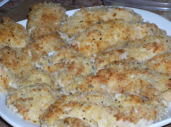 Panko Baked Chicken Thighs ( Convection Toaster Oven) Recipe