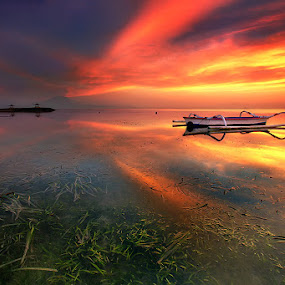 Sky Light by Agoes Antara - Landscapes Waterscapes