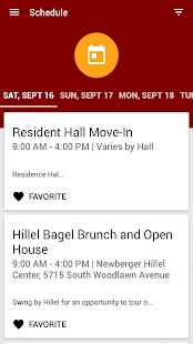 University of Chicago Fall 2017 Orientation- screenshot thumbnail